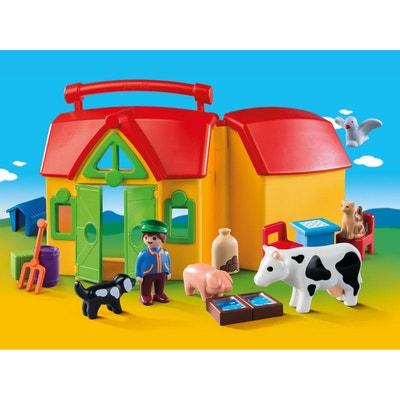 Ferme transportable avec animaux PLAYMOBIL