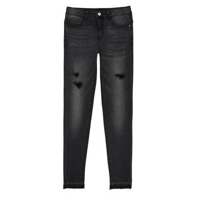 Jeans skinny strappati 10 - 16 anni Jeans skinny strappati 10 - 16 anni La Redoute Collections