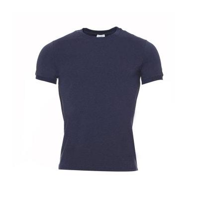 Tee-shirt col rond en coton stretch Tee-shirt col rond en coton stretch. DOLCE  GABBANA 1dc2f14c029b