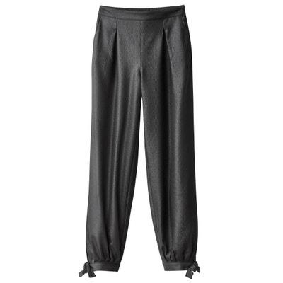 Pantalon avec lien bas de jambe Pantalon avec lien bas de jambe La Redoute Collections