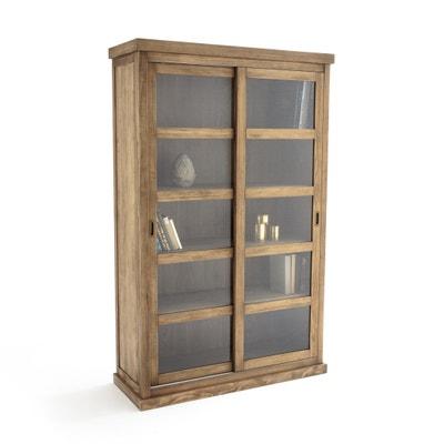 Шкаф книжный с 2 раздвижными дверцами LUNJA Шкаф книжный с 2 раздвижными дверцами LUNJA La Redoute Interieurs