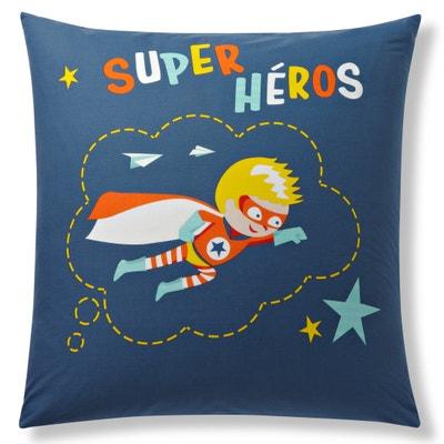 Federa per guanciale cotone SUPER HEROS Federa per guanciale cotone SUPER HEROS La Redoute Interieurs