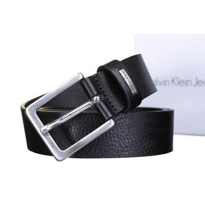0ac1f76508a8 Ceinture Calvin Klein Jeans Mino Belt 3 en cuir à boucle classique Ceinture  Calvin Klein Jeans