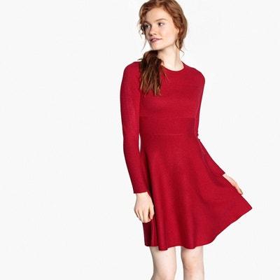 rouge La femme Redoute Robe solde en PORfIdq