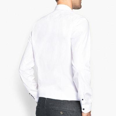 Camisa slim com detalhes fantasia La Redoute Collections