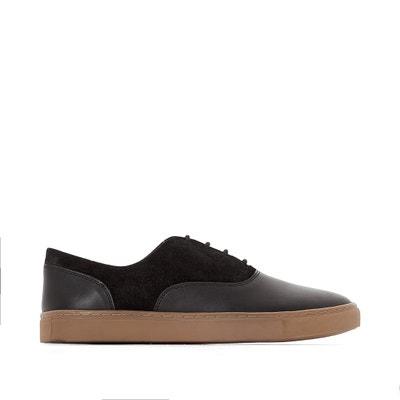 Leren sneakers, brede voet Leren sneakers, brede voet CASTALUNA