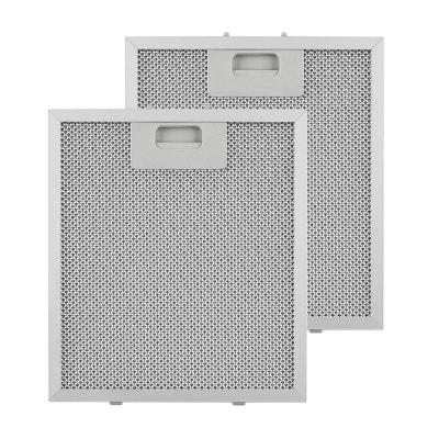 Klarstein Set 2 filtres à graisse de rechange pour hotte 23 x 26 cm aluminium Klarstein Set 2 filtres à graisse de rechange pour hotte 23 x 26 cm aluminium KLARSTEIN