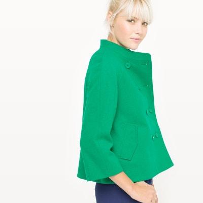 Short Wool Cape MADEMOISELLE R