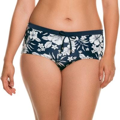 Floral Print Bikini Bottoms DORINA