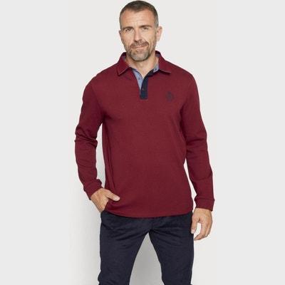 Polo en coton   à manches longues ARROW