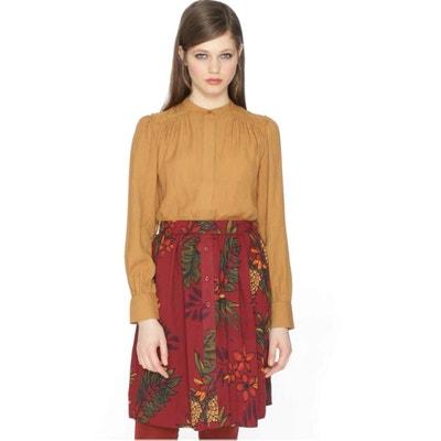 Pleated Floral Print Skirt PEPALOVES