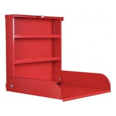 Table à Langer Murale Fifi Rouge Bybo Design