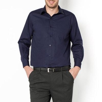 Camisa lisa, mangas compridas Camisa lisa, mangas compridas CASTALUNA FOR MEN