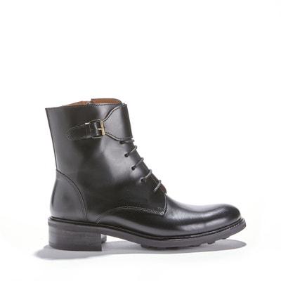 Hohe Boots 7350 POLIDO NOIR, Rindsleder Hohe Boots 7350 POLIDO NOIR, Rindsleder ANTHOLOGY PARIS