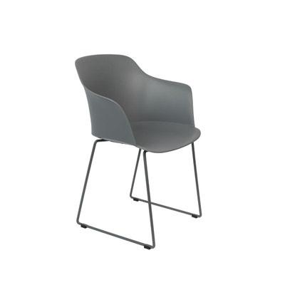 Chaise bleu gris en solde la redoute - Chaises la redoute soldes ...