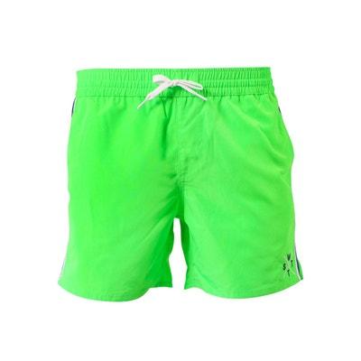 Short de bain homme vert en solde   La Redoute 9c42dc9bda43