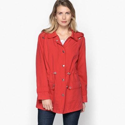 Manteau femme grosse capuche