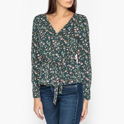 Hemd met bloemenprint, V-hals ANTOINE Hemd met bloemenprint, V-hals ANTOINE GARANCE PARIS