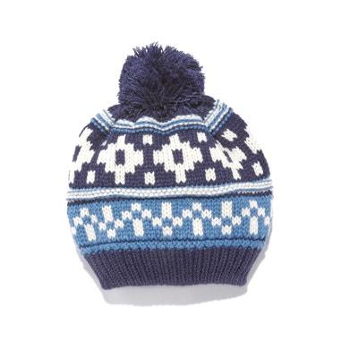 Jacquard Bobble Hat Jacquard Bobble Hat La Redoute Collections