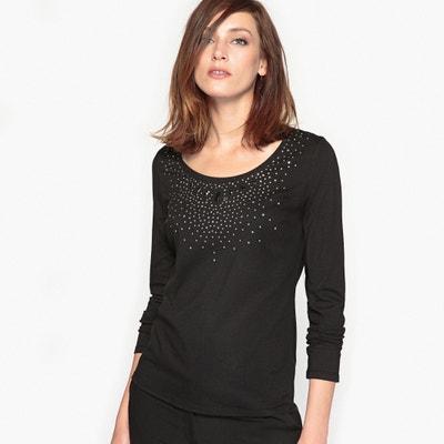 T-shirt bijou, cotone & modal T-shirt bijou, cotone & modal ANNE WEYBURN