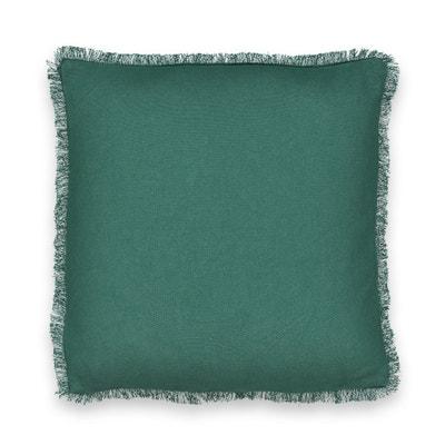 PANAMA Fringed Cotton Cushion Cover PANAMA Fringed Cotton Cushion Cover La Redoute Interieurs