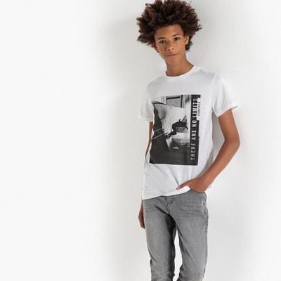 T-shirt stampa fotografica scollo rotondo 10-16 anni T-shirt stampa fotografica scollo rotondo 10-16 anni La Redoute Collections