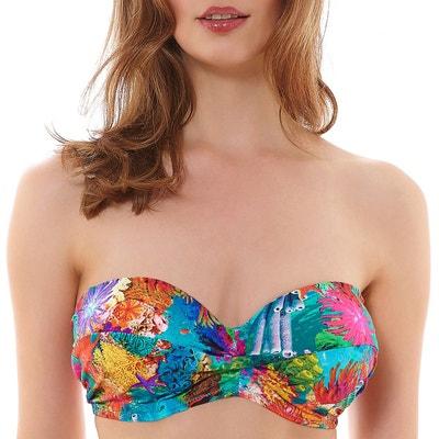Qualité Supérieure Haut de maillot à armatures bretelles amovibles Under the sea Reef La Sortie Fiable HV6LSy