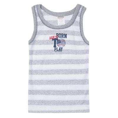 Camiseta sin mangas con cuello redondo Camiseta sin mangas con cuello redondo ABSORBA