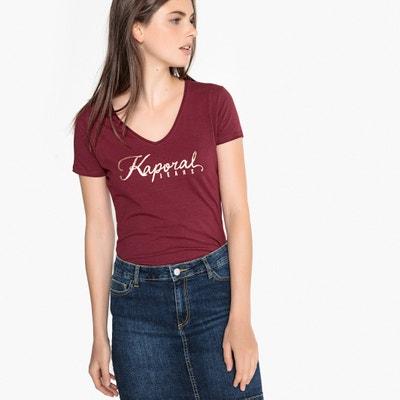 T-shirt de decote em V, motivo KAPORAL T-shirt de decote em V, motivo KAPORAL KAPORAL 5