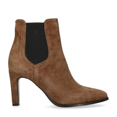 Chelsea boots en cuir à talon Chelsea boots en cuir à talon SACHA 6496614d87c9