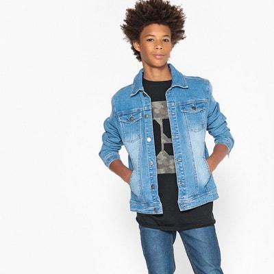 Veste en jean 10-16ans Veste en jean 10-16ans La Redoute Collections