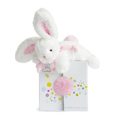 Coucou Rabbit Comfort Blanket - Sorbet Pink DOUDOU ET COMPAGNIE