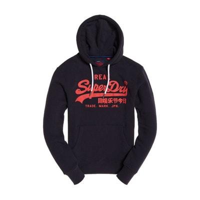 Sweater met kap, print vooraan, VINTAGE LOGO Sweater met kap, print vooraan, VINTAGE LOGO SUPERDRY