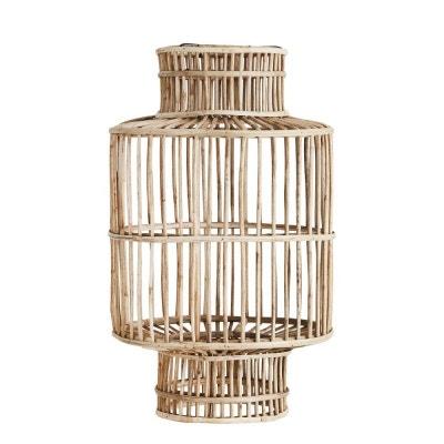 Abat-jour design style lanterne bois bambou Abat-jour design style lanterne bois bambou MADAM STOLTZ