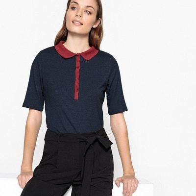 Tee-shirt polo bicolore La Redoute Collections