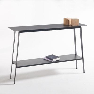 Hiba Steel Console Table La Redoute Interieurs