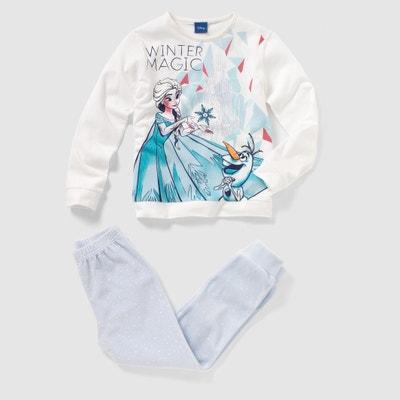 Pijama jersey FROZEN, O REINO DO GELO, 2 - 10 anos Pijama jersey FROZEN, O REINO DO GELO, 2 - 10 anos LA REINE DES NEIGES