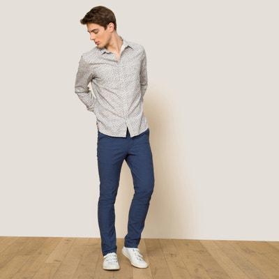 Pantalon VEGAN micro check BELLEROSE