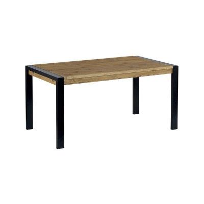 Table repas rectangulaire pin massif brossé 160cm LOUNDGE Table repas rectangulaire pin massif brossé 160cm LOUNDGE PIER IMPORT
