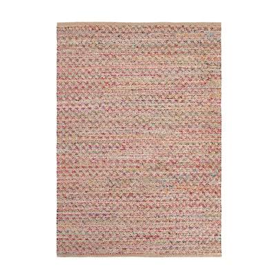 Handgeweven tapijt in jute en gerecycleerd katoen, TOUARO Handgeweven tapijt in jute en gerecycleerd katoen, TOUARO La Redoute Interieurs