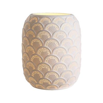 Lampe de chevet en porcelaine ajourée Lampe de chevet en porcelaine ajourée MAISON ROUSSOT