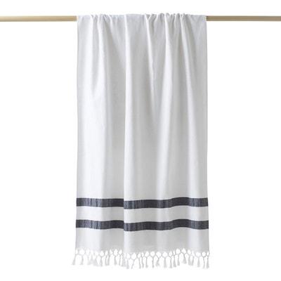 Chusta fouta, jedna strona z frotte, wielkość ręcznika plażowego ANTALYA Chusta fouta, jedna strona z frotte, wielkość ręcznika plażowego ANTALYA La Redoute Interieurs