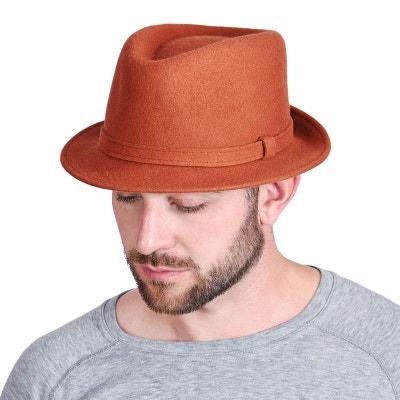 Chapeau trilby Jonas Orange Chapeau trilby Jonas Orange DANDYTOUCH
