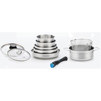 Casserole inox induction en solde la redoute - Batterie de cuisine en solde ...