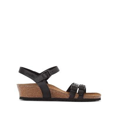 Platte leren sandalen Lana BIRKENSTOCK
