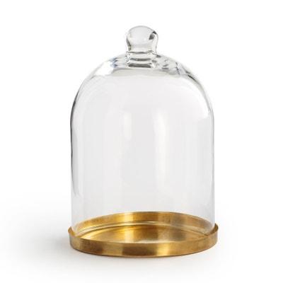 Campana in vetro e ottone A23 cm TANEMIRTE Campana in vetro e ottone A23 cm TANEMIRTE La Redoute Interieurs