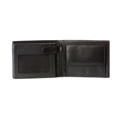 DV Portefeuille pour homme en Cuir souple Nappa avec Porte-monnaie Fermeture intérieure et Fentes pour Cartes de crédit DV