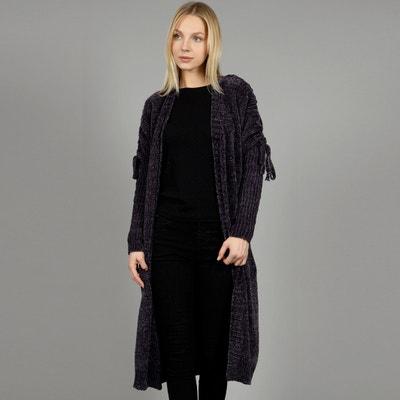 Lange vest in kabeltricot Lange vest in kabeltricot MOLLY BRACKEN
