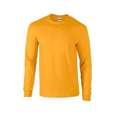 Tee shirt dore en solde   La Redoute fe0941da1f17