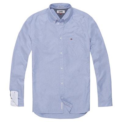 Camisa recta de manga larga Camisa recta de manga larga TOMMY JEANS